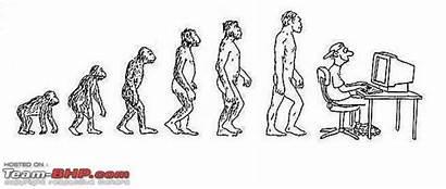 Social Personal Evolution Human Experiences Cartoons Team
