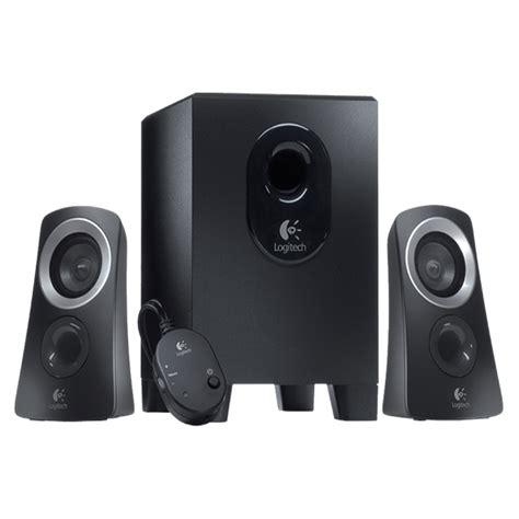 logitech z 313 speaker 2 1 hitam logitech z 313 2 1 stereo lautsprecher subwoofer 2 1