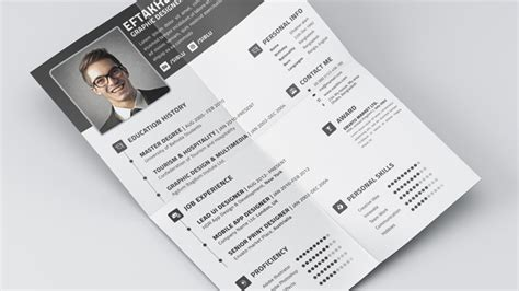 Resume Business Card Format by 5 Free Fully Customizable Cv Resume Templates