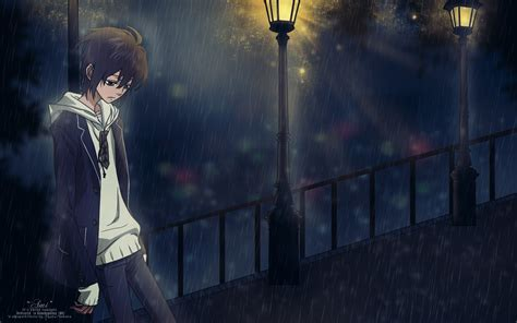 Sad Anime Boy Wallpaper - sad anime wallpaper 64 images