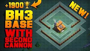 Best Builder Hall 3 Base W   2 Cannons