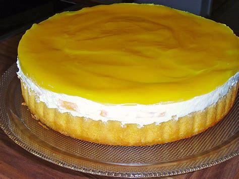 schnelle torten rezepte mit bild schnelle pfirsich maracuja torte sue ellen chefkoch