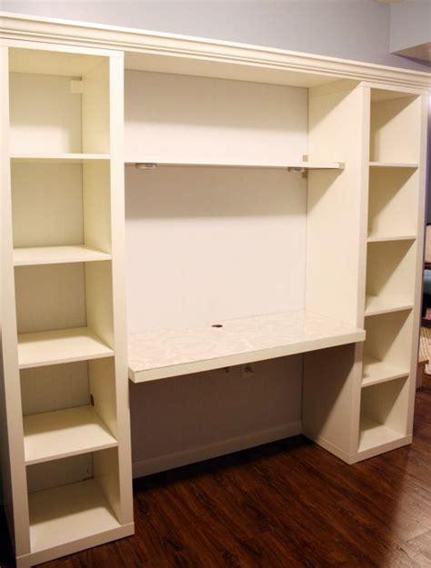ikea wall desk unit top 25 best ikea shelves ideas on ikea ideas