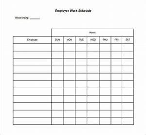 FREE 32+ Schedule Templates   Word