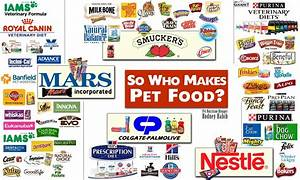 so who makes pet food list of all of the brands of With dog food brands list