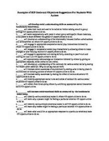 iep goal for resume writing 25 best ideas about objectives sle on
