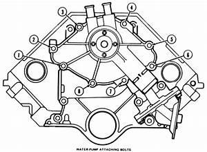 Ford 302 Power Steering Bracket Diagram