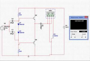 Push-pull Amplifier Class Ab