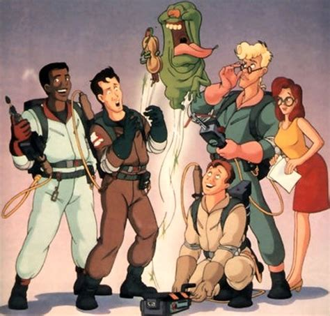 Egon And Janine Classic Geek Cartoons Revisited The Real Ghostbusters
