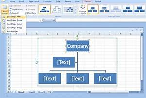 How Do I Make An Organizational Chart In Excel Chart Walls