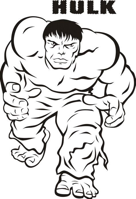 hulk superheroes printable coloring pages