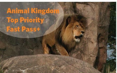 disney animal kingdom top priority fast pass walt