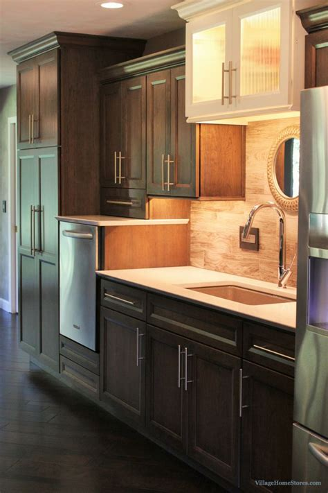 dura supreme kitchen cabinets dura supreme s gray cherry quot caraway quot finish and a 6987