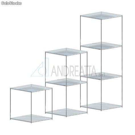 scaffali in plexiglass scaffale cromato con ripiani in plexiglass prodotti italia