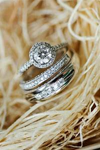 16 inspiring and creative engagement and wedding ring for Wedding ring picture ideas