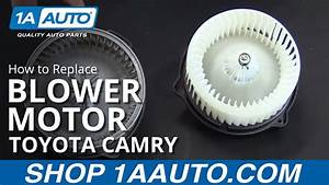 How To Replace Blower Motor 97-01 Toyota Camry