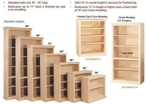 3 Foot Wide Bookcase by Planning A Bookcase Order