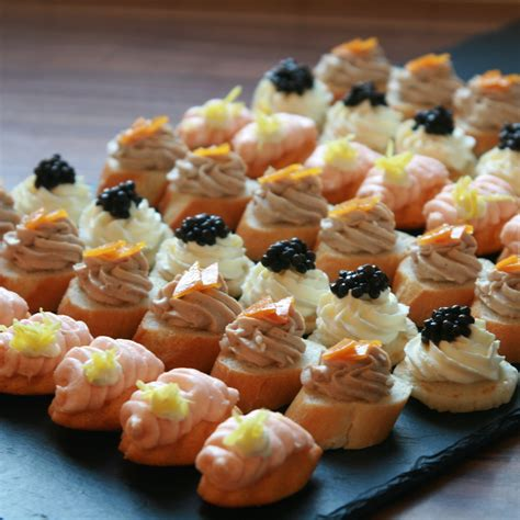 canape food canapes the touch to your bertrand