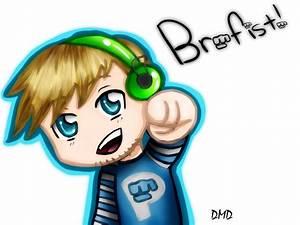 PewDiePie Brofist! by MokaMizore97 on DeviantArt