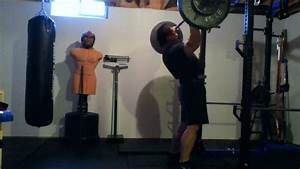 Overhead Press  250lbs  200lbs Body Weight