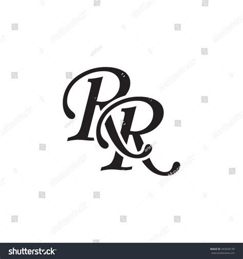 Rr Initial Monogram Logo Stock Vector 343549139 Shutterstock