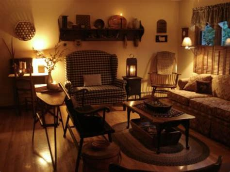 primitive place primitive colonial inpired living rooms