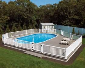 Above Ground Pool Deck Images Above Ground Pool Deck Pics Landscape Designs