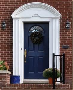 Dark Blue Front Door