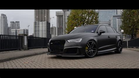 audi rs wrapped  satin pearl nero youtube
