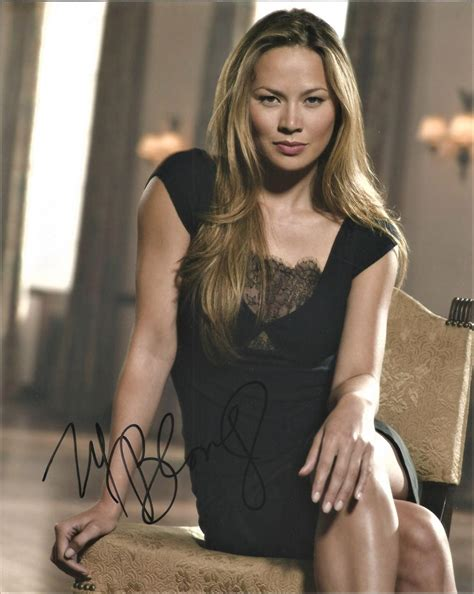 Moon Bloodgood very sexy hand-signed 10 x 8 inch photo. This