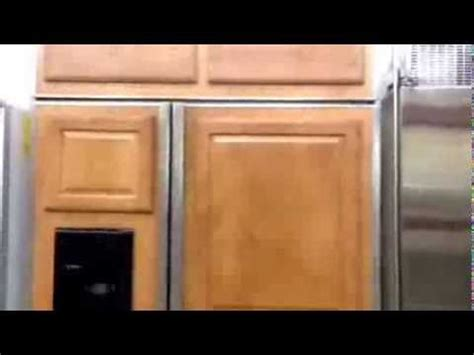 ge monogram   custom panel refrigerator youtube