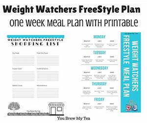 Smart Points Budget Berechnen : weight watchers freestyle plan one week menu plan ~ Themetempest.com Abrechnung
