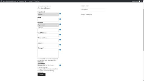 contact form bestwebsoft
