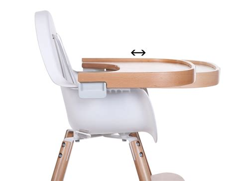 chaise haute sans tablette childhome evolu 2 by design