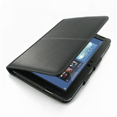 samsung galaxy note  leather folio stand case pdair
