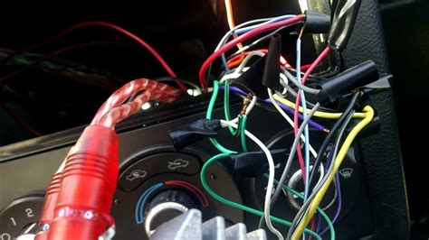 Lanzar Wire Harnes by What To Do With The Orange Wire When Wiring A Aftermarket