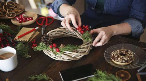 Holzkranz Selber Machen by Weihnachtsdeko Basteln Einfache Ideen Zum Selbermachen