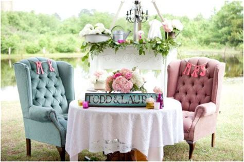 87 Best Images About Bride And Groom Table Set Up On
