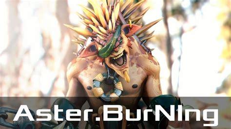 aster burning bristleback safe jan 1 2019 dota 2 patch 7 20 gameplay youtube