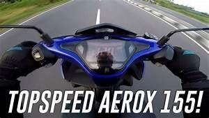 Topspeed Yamaha Aerox 155