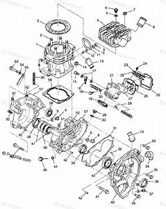 Polaris Atv 1996 Oem Parts Diagram For Crankcase
