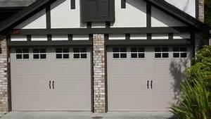 Clopay gallery door wide panel short window obscure for 9x7 garage doors for sale