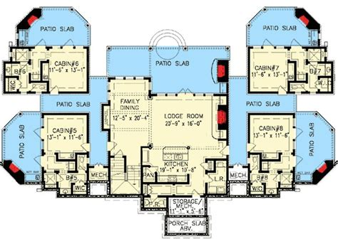 couples mountain retreat   courtyard house plans cabin floor plans mountain house plans