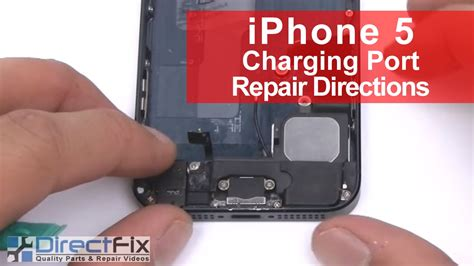 how to clean iphone 5 charging port iphone 5 charging port dock replacement in 5 minutes