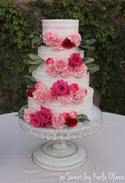 sweet  stunning summer wedding cakes stayglam