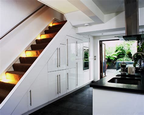 kitchen stairs design 55 amazing space saving kitchens the stairs 6355