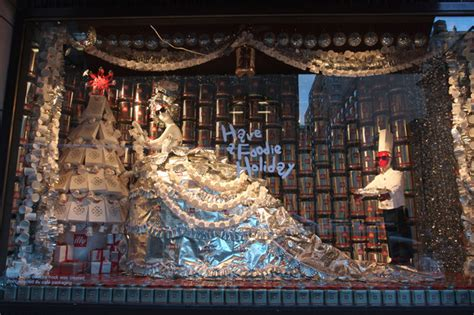 A Bicycle Built For Two Christmas In Nycwindow Displays Ii
