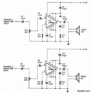 Walkman Amplifier - Amplifier Circuit