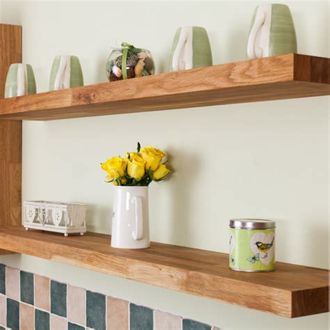 kitchen cupboard storage racks uk oak floating shelves oak shelves floating solid oak 7907