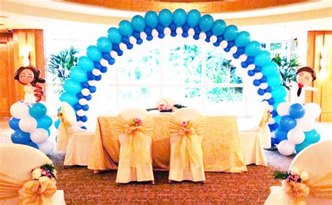 wedding balloon decorations jocelynballoons the leading balloon decoration company in singapore